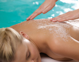Satin Shimmer Body Scrub Treatments in Louisville